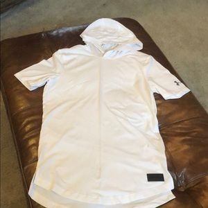 Under Armour hooded t-shirt. Like new - worn once
